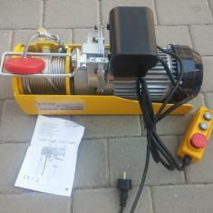 Macara/troliu/vinci electric 2000W 500/1000 kg EURO CRAFT HJ 208