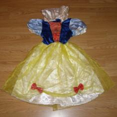 Costum carnaval serbare alba ca zapada pentru copii de 4-5 ani marime S - Costum Halloween, Marime: Masura unica, Culoare: Din imagine