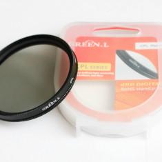 Filtru de polarizare circulara Green-L dHD de 52 mm - Filtru foto Green-L, 50-60 mm