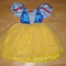 Costum carnaval serbare alba ca zapada pentru copii de 6-7 ani - Costum Halloween, Marime: Masura unica, Culoare: Din imagine