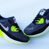 ADIDASI NIKE AIR MAX marimea 44 - Adidasi barbati Nike, Culoare: Verde, Piele sintetica
