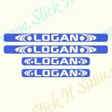 Set Protectii Praguri Dacia Logan-Model 3_Tuning Auto_Cod: PRAG-142