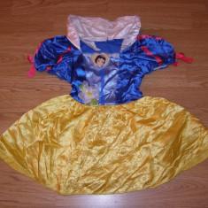 Costum carnaval serbare alba ca zapada pentru copii de 2-3-4 ani - Costum Halloween, Marime: Masura unica, Culoare: Din imagine