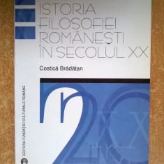 Costica Bradatan - O introducere la istoria filosofiei romanesti in secolul XX - Carte Filosofie