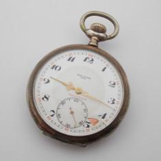 R - Ceas de buzunar Hans Enger argint 800 - Ceas de buzunar vechi