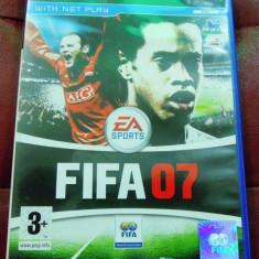 Fifa 07, PS2, original, alte sute de jocuri! - Jocuri PS2 Ea Sports, Sporturi, 3+, Multiplayer
