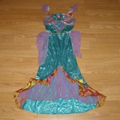 Costum carnaval serbare printesa ariel pentru copii de 6-7 ani - Costum Halloween, Marime: Masura unica, Culoare: Din imagine