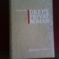 Vladimir Hanga Drept privat roman, ed. princeps - Carte Istoria dreptului