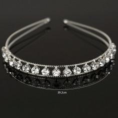 Coronita / tiara mireasa / ocazie cristale tip Swarovski - Tiare mireasa