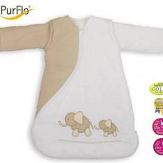 Sac De Dormit Purflo, Brodat 0-3 Luni (55 Cm) - Sac de dormit copii
