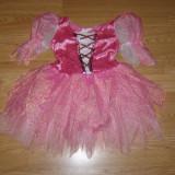 Costum carnaval serbare zana fluture pentru copii de 2-3-4 ani - Costum Halloween, Marime: Masura unica, Culoare: Din imagine
