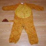 Costum carnaval serbare animal leu simba pentru copii de 3-4 ani - Costum Halloween, Marime: Masura unica, Culoare: Din imagine