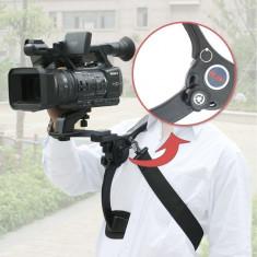 Suport de umar pentru camere video si aparate DSRL Nikon, Canon, Sony
