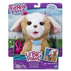 Jucarie De Plus Furreal Friends Li'l Big Paws Tug 'N Love Bouncy Pet Hasbro