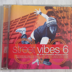 Various ‎– Street Vibes 6 _ dublu CD, compilatie, UK - Muzica Pop sony music
