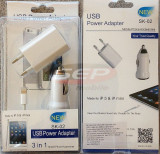 Kit accesorii iPhone 5S / 6S & iPad 4 / mini DELUXE compatibil IOS8