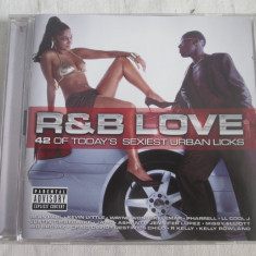 Various ‎– R&B Love _ dublu CD, compilatie, UK - Muzica Pop sony music