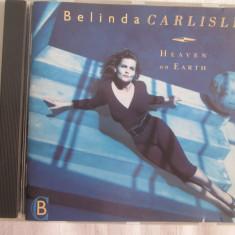 Belinda Carlisle – Heaven On Earth _ CD, album, Germania - Muzica Pop virgin records