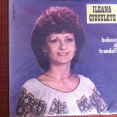 ILEANA CIUCULETE Bobocel de trandafir disc vinyl lp Muzica Populara electrecord folclor, VINIL