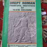 DREPT ROMAN PRINCIPII,INSTITUTII SI TEXTE CLELBRE TEODOR SAMBRIAN