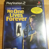 PS2 The operative No one lives forever / joc original PAL by WADDER
