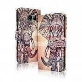 Toc FlipCover Fancy Sony Xperia Z3 Compact ELEPHANT, Alt model telefon Sony, Piele Ecologica