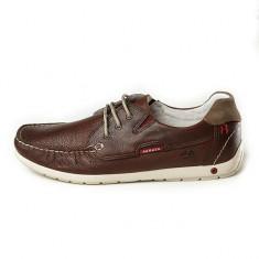 Pantofi Grisport barbatesti din piele naturala (GR42105O19 ) - Mocasini barbati Grisport, Marime: 43, Culoare: Maro