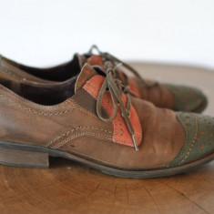 SALAMANDER PANTOFI DE PIELE MARIMEA 38 - Pantof dama, Culoare: Din imagine, Cu talpa joasa