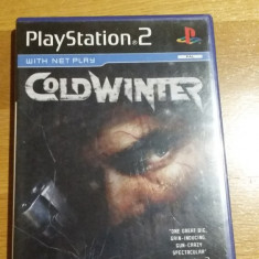 PS2 Cold Winter / joc original PAL by WADDER - Jocuri PS2 Sierra, Actiune, 18+, Single player