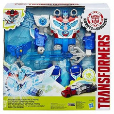 Jucarie Transformers Robots In Disguise Power Surge Optimus Prime And Aero Bolt Hasbro
