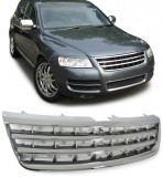 Grila fara semn VW Touareg (7L) 02-06 (inainte de Facelift) crom, Diederichs