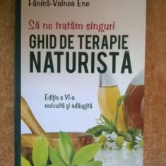 Fanica-Voinea Ene - Ghid de terapie naturista