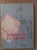 Garnituri de lenjerie modele carte ilustrata desene hobby 1961, Alta editura