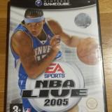 GAMECUBE NBA live 2005 / Joc original by WADDER
