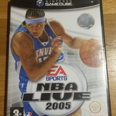 GAMECUBE NBA live 2005 / Joc original by WADDER Ea Sports, Sporturi, 3+, Multiplayer