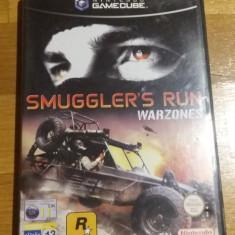 GAMECUBE Smuggler's run Warzones / Joc original by WADDER, Curse auto-moto, 12+, Multiplayer, Rockstar Games