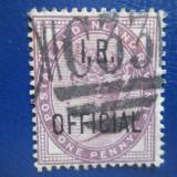 ANGLIA=1881=NEUZATE, Stampilat