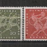 Germania.1960 Olimpiada de vara ROMA SG.252 - Timbre straine, Nestampilat