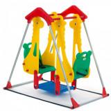 """Leagan balansoar pentru copii """"Zoo', 1-3 ani, Portocaliu, Melissa & Doug"""