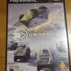 PS2 Dropship United peace force / joc original PAL by WADDER - Jocuri PS2 Sony, Simulatoare, 12+, Single player