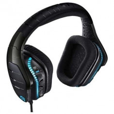Casti Gaming Logitech G633 Artemis Spectrum Rgb 7.1 Negru, Casti Over Ear, Cu fir, Mufa 3, 5mm, Active Noise Cancelling