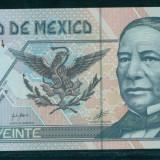 MEXIC 20 pesos 2001  - serii diferite UNC P-116a