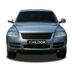 Grila fara semn VW Touareg (7L) 02-06 (inainte de Facelift) neagra - Grile Tuning Diederichs, Volkswagen, TOUAREG (7LA, 7L6, 7L7) - [2002 - 2010]