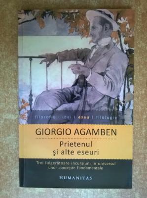 Giorgio Agamben - Prietenul si alte eseuri foto