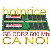 Memorie 4GB RAM DDR2 4 GB INTEL AMD 2x 2 GB PC2-6400 DDR2-800Mhz 240 pin desktop