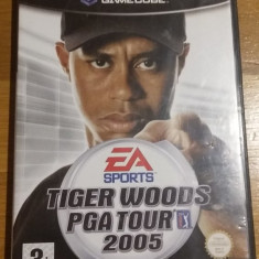 GAMECUBE Tiger Woods PGA tour 2005 / Joc original by WADDER Ea Sports, Sporturi, 3+, Multiplayer