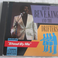 Ben E. King & The Drifters - Best Of _ CD, compilatie, UK - Muzica R&B Altele