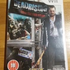 Wii Dead rising Chop till you drop - joc original PAL by WADDER, Actiune, 18+, Single player, Capcom