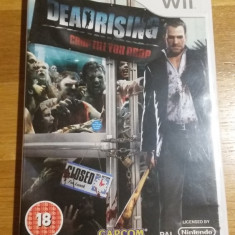 Wii Dead rising Chop till you drop - joc original PAL by WADDER - Jocuri WII Capcom, Actiune, 18+, Single player