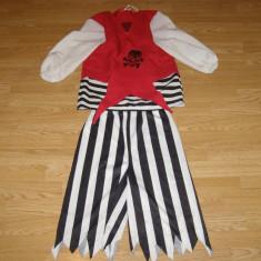 Costum carnaval serbare pirat pentru copii de 11-12 ani - Costum Halloween, Marime: Masura unica, Culoare: Din imagine